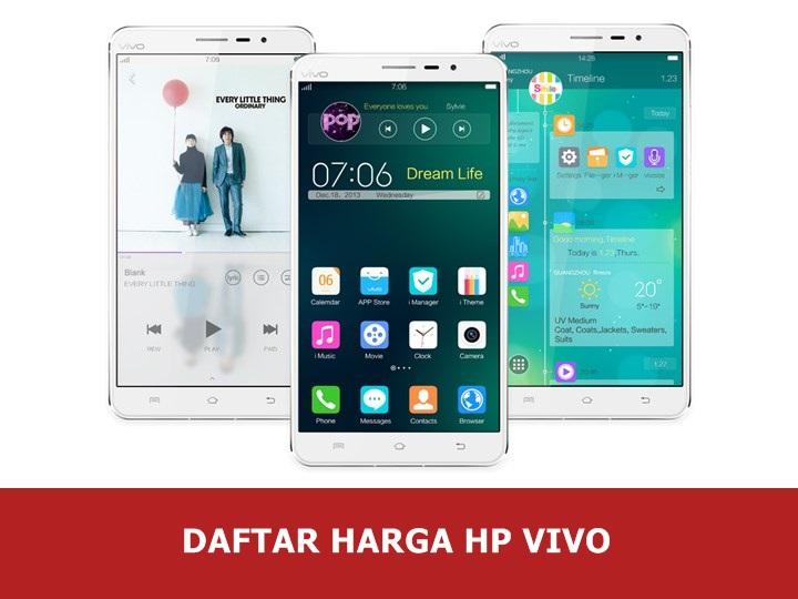 Daftar Harga Hp Vivo Android