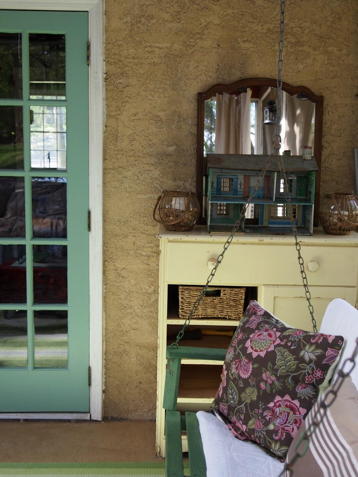 Flea Market Style Porch