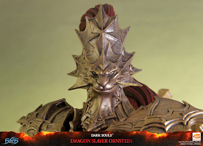 Dragon Slayer Ornstein Statue tratto da Dark Souls della First 4 Figures