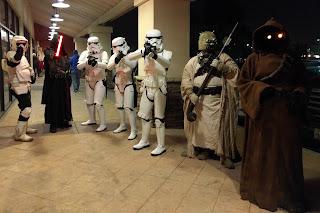 Opening night of Star Wars week at HoP, Clovis, CA