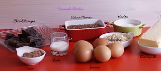 Tarta de chocolate-Ingredientes