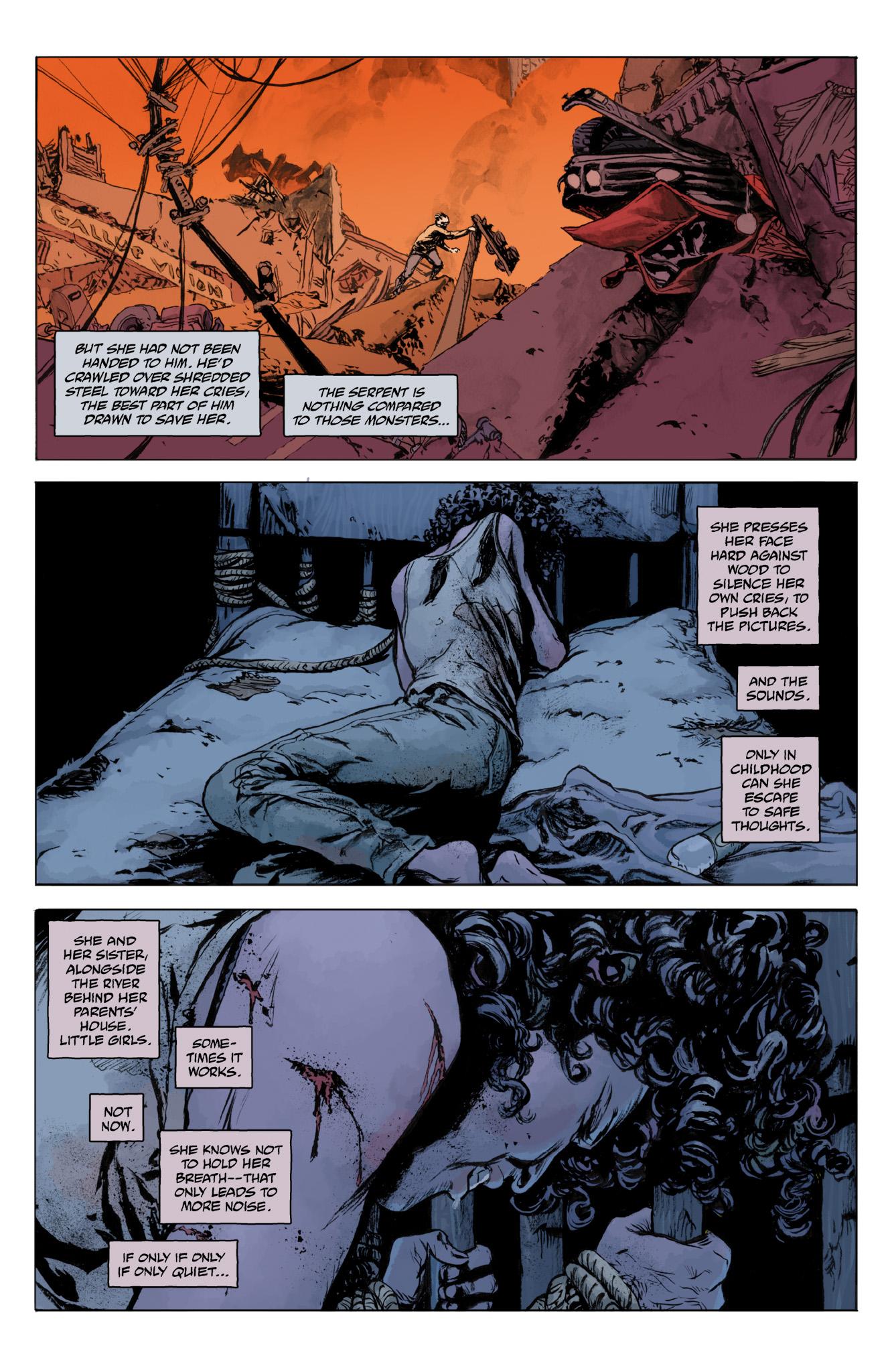Read online Abe Sapien comic -  Issue #12 - 12