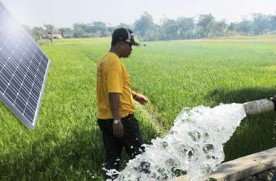 Mesin Pompa Air Solar CEll Untuk Irigasi Pertanian tambak garam dan ikan