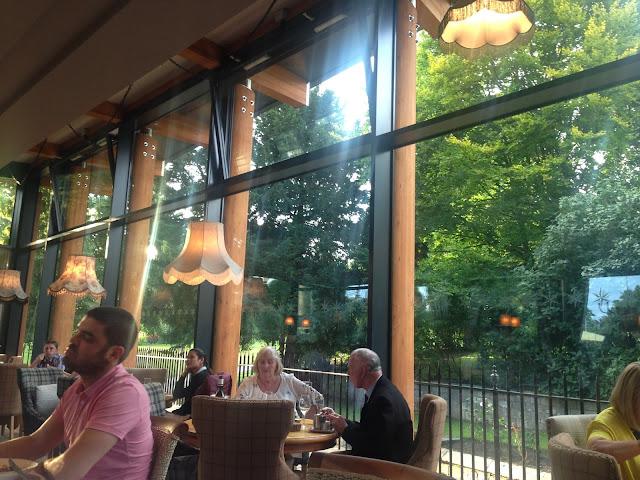 Inside the restaurant, star in the city york