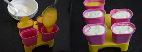 how to make mango yogurt popsicles