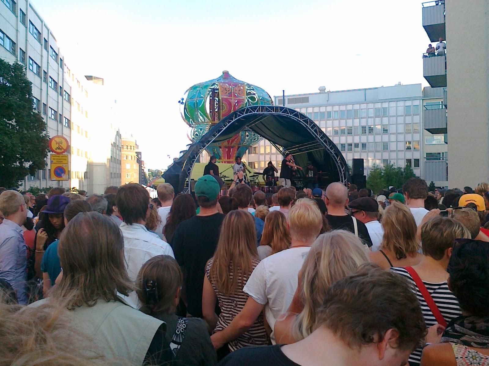 Savannilla: Kallio Block Party, Helsinki