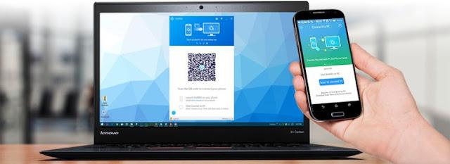 SHAREit - Aplikasi kirim file tercepat android dan PC/laptop