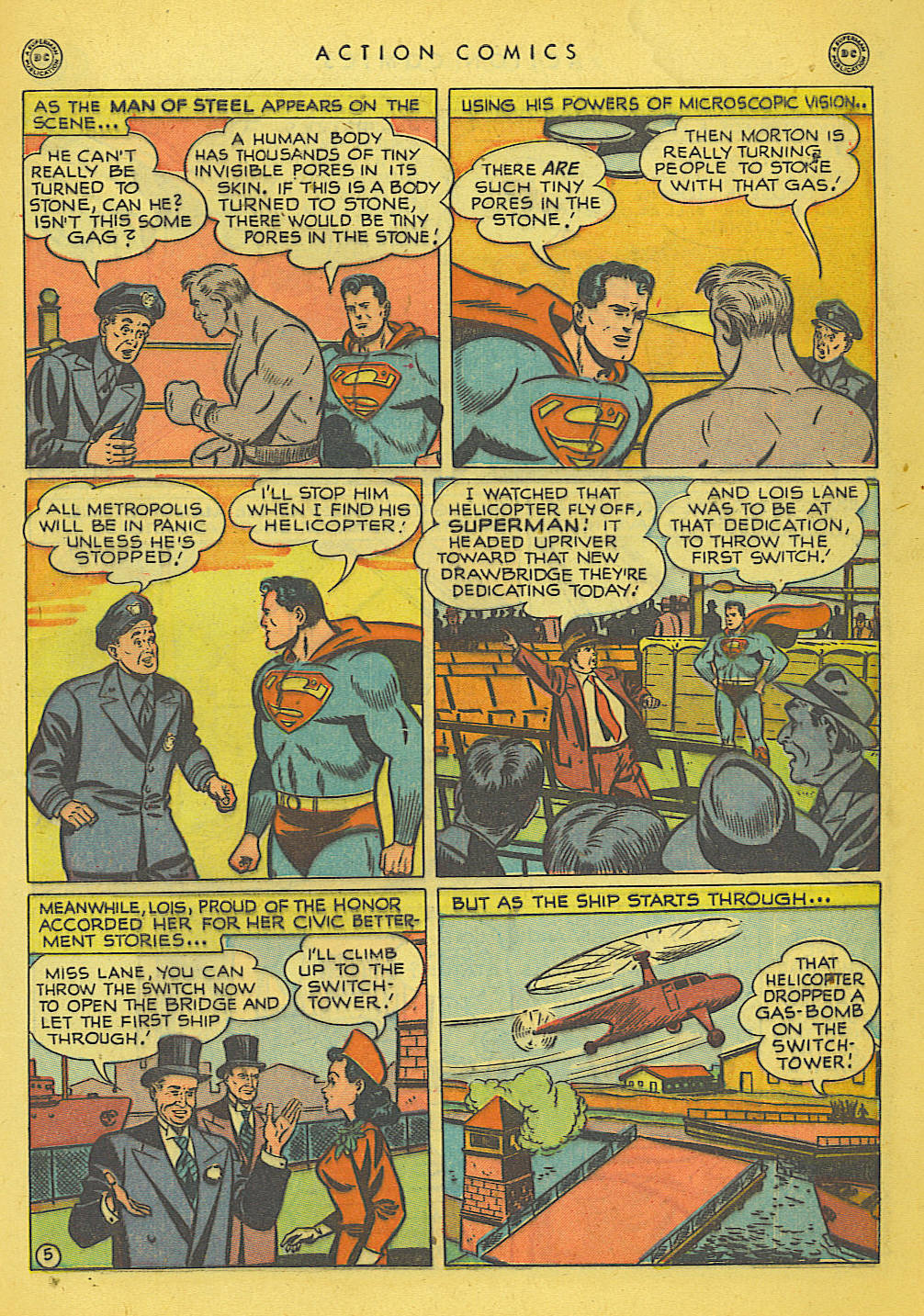 Read online Action Comics (1938) comic -  Issue #135 - 6