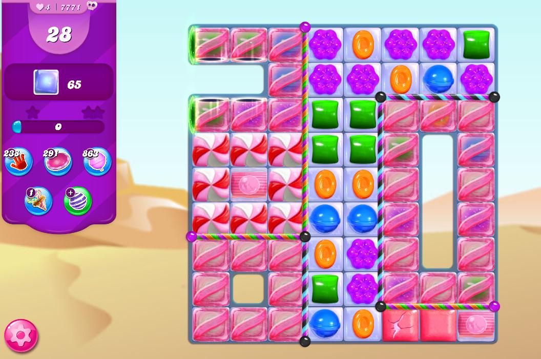 Candy Crush Saga level 7771