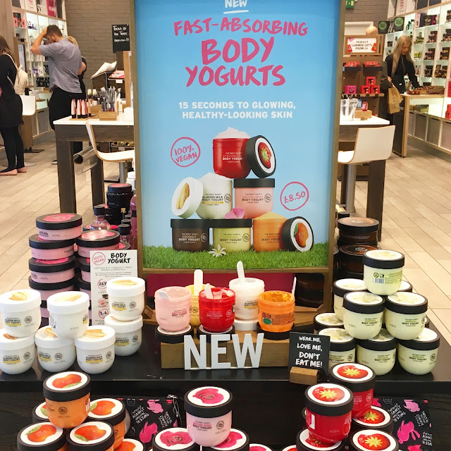 cruelty free, fight animal testing, body yoghurts, vegan beauty, the body shop, leicester, highcross, highcross leicester