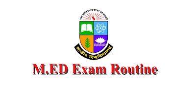 Nu M.ED Exam 2018 Routine 2019 | Edu bd news