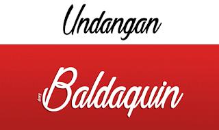 Download 40+ Font Latin Keren Untuk Desain Undangan Pernikahan, Baldaquin