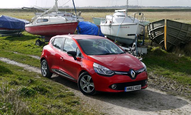 Renault Clio Eco front view