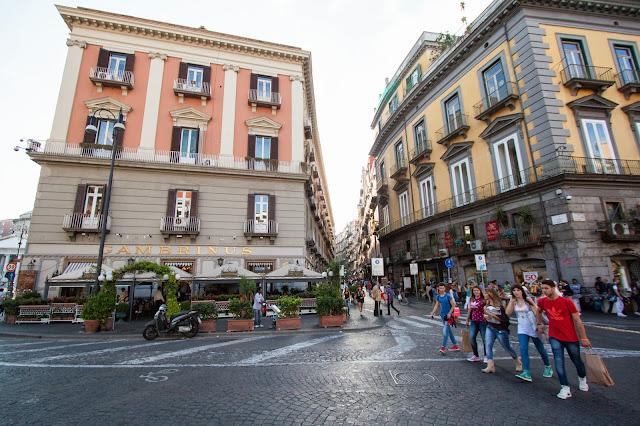Caffé Gambrinus-Piazza Trieste e Trento-Napoli