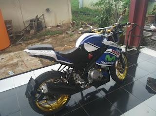 Modifikasi Motor Yamaha Vixion 11