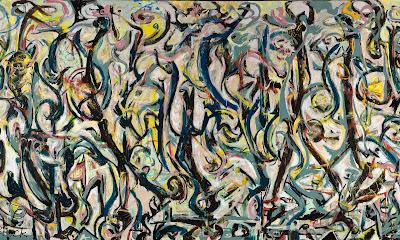 jackson Pollock - Mural (1943)