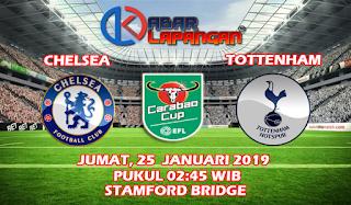 Prediksi Bola Chelsea vs Tottenham Hotspur 25 Januari 2019