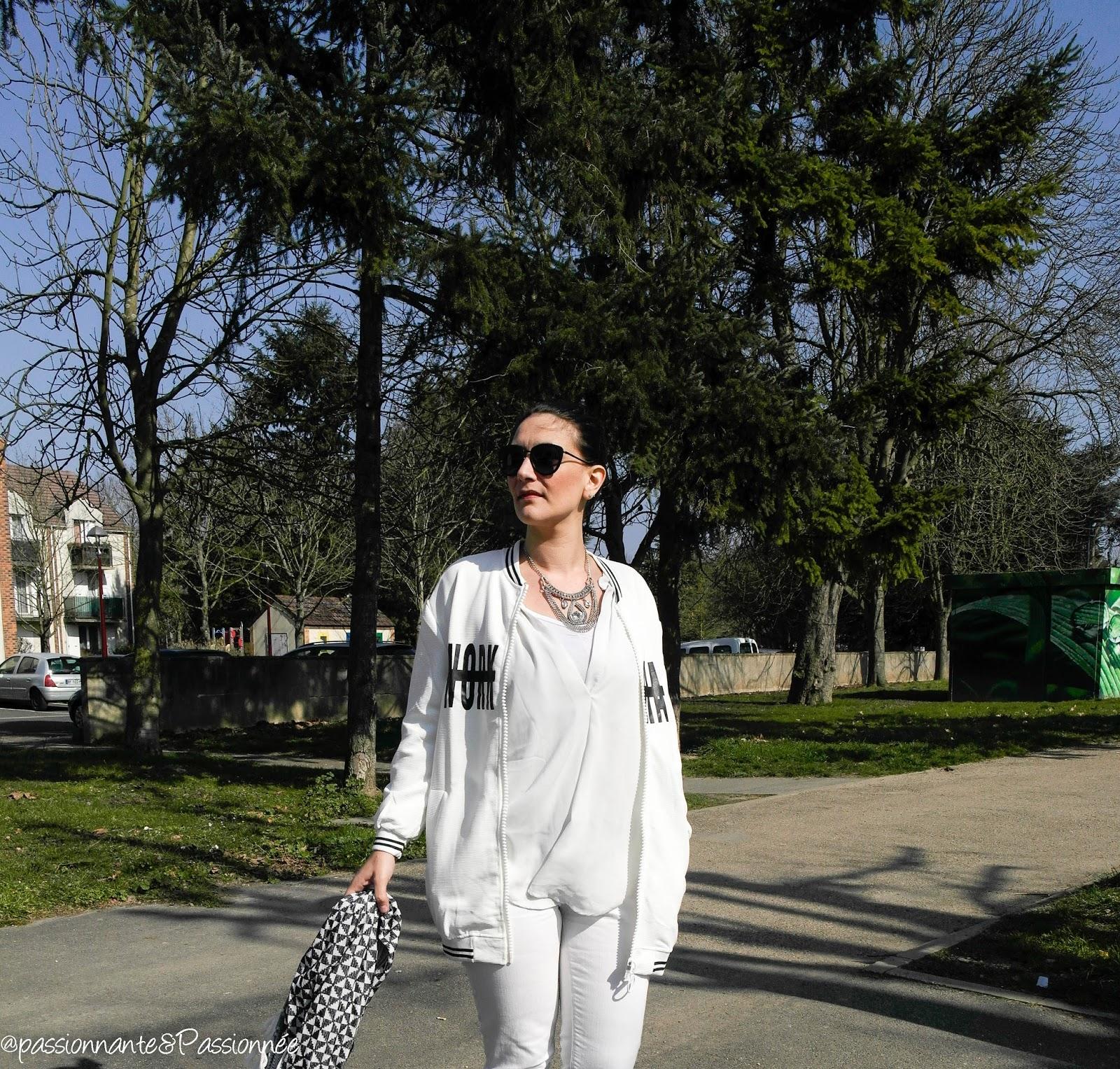 outfit en blanc