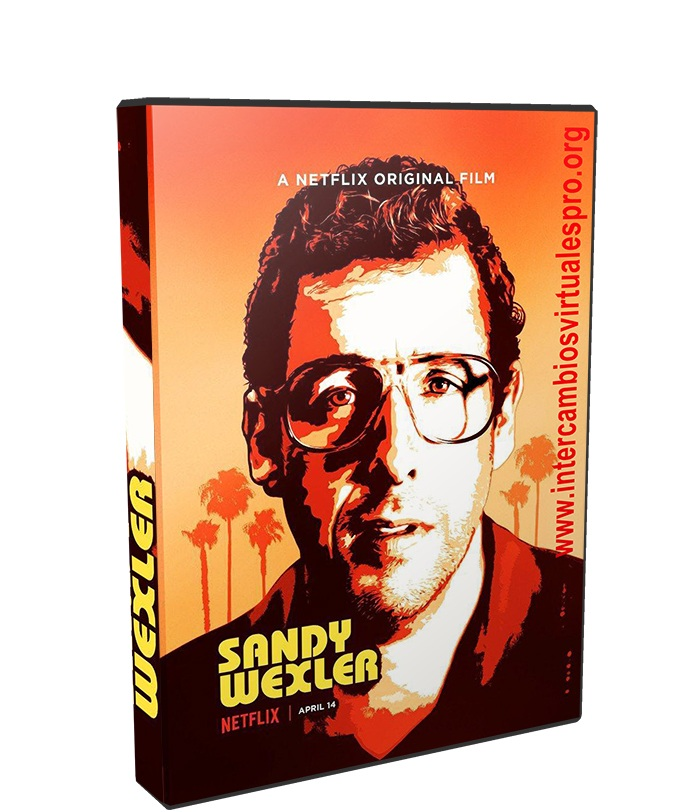 Sandy Wexler poster box cover