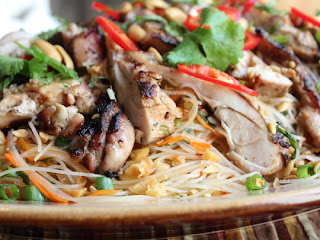 Spicy Rice Noodle Salad – Strange But Chew