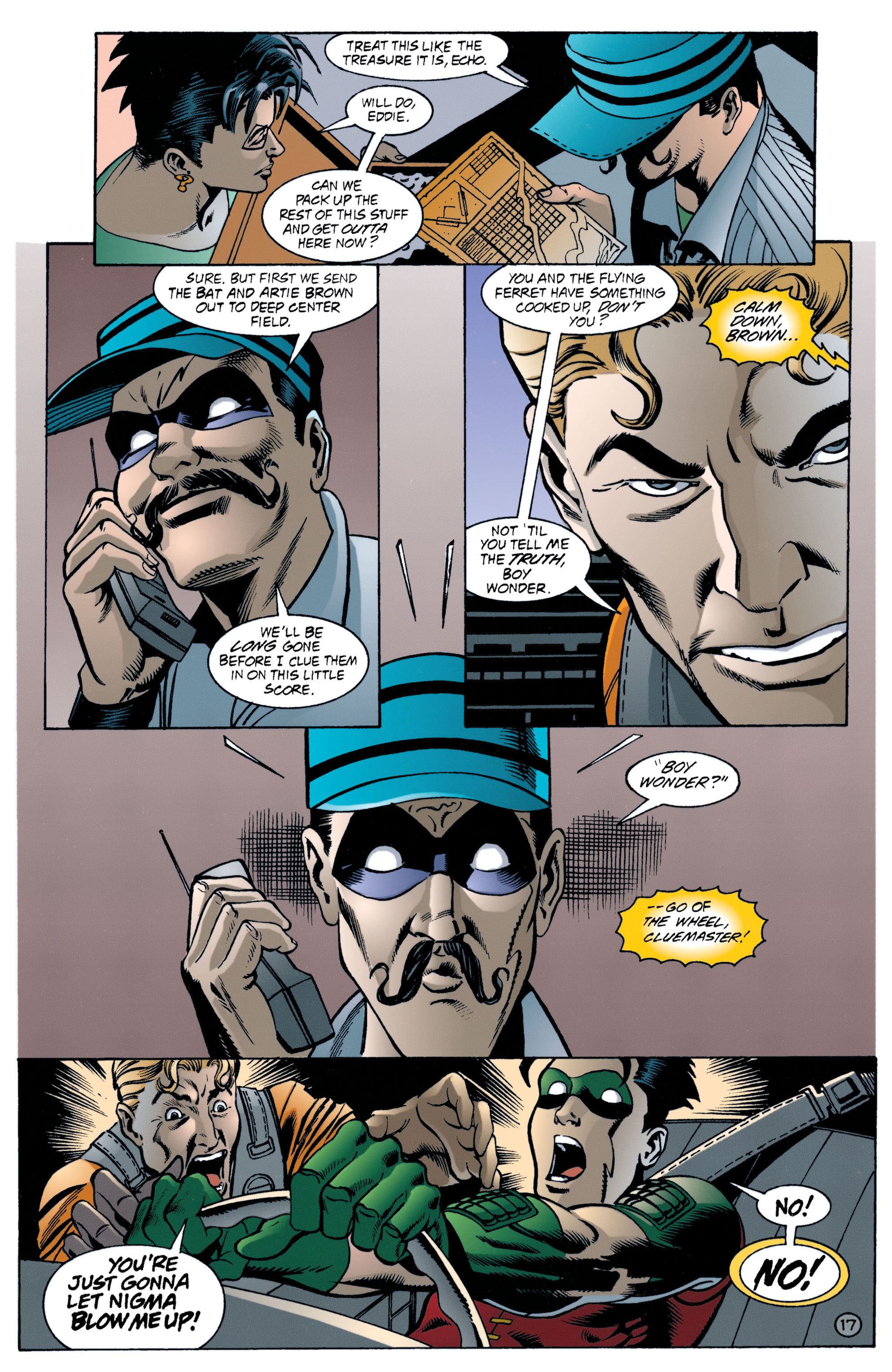 Detective Comics (1937) 707 Page 17