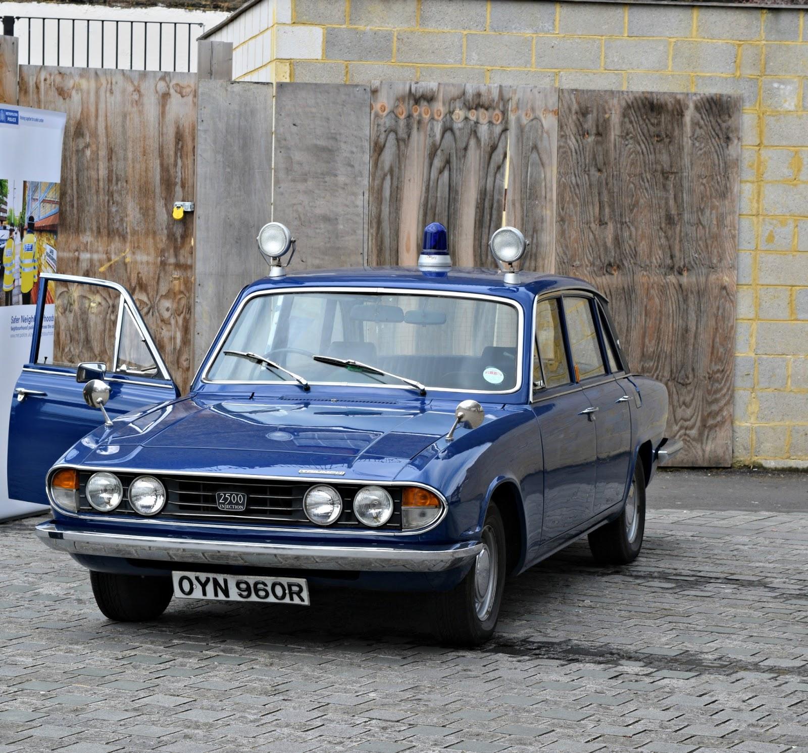 triumph police car