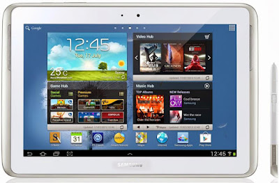 Spesifikasi Samsung Galaxy Note 10.1 N8000      Samsung Galaxy Note 10.1 menghadirkan 2 pilihan warna yaitu hitam dan putih.Samsung Galaxy Note 10.1 memiliki resolusi layar 1280 x 800 Mp. Samsung memberikan Galaxy Note 10.1 prosesor Intel quad-core 1.4GHz sebagai otaknya, sistem operasi Android 4.0 (Ice Cream Sandwich).   Pada rumor yang beredar sebelumnya ketika Samsung Galaxy Note 10.1 menggunakan RAM berkapasitas 1 Gb ternyata tidak benar, Samsung Galaxy Note 10.1 telah menggunakan RAM berkapasits 2 Gb, hal ini membuat kinerja Samsung Galaxy Note 10.1 semakin meyakinkan dengan proses multi-tasking yang lebih cepat. Pada kamera belakang Samsung Galaxy Note 10.1 menggunakan 5 Mp plus flash, sedangkan pada kamera depan menggunakan 1,9 Mp. Samsung Galaxy Note 10.1 sendiri telah mendukung teknologi 4 G LTE.      Bicara tentang baterai, Samsung Galaxy Note 10.1 menggunakan batrai berjenis lithinium ion 7.000 mAh. Pada pameran sebelumnya Samsung Galaxy Note 10.1 dapat di gunakan higga 5-6 jam penggunaan normal.   Kelebihan   Mendukung jaringan GSM sehingga dpat digunakan untuk menelfon dan Battrei : Non-removable Li-Ion 7000 mAh battery  Referensi  http://www.hargasamsunggalaxyy.com/2016/12/kelebihan-kekurangan-samsung-galaxy-note-10-n8000.html