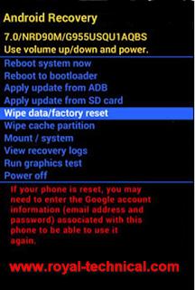 كيفية استعادة الإعدادات الافتراضية في ITEL P32