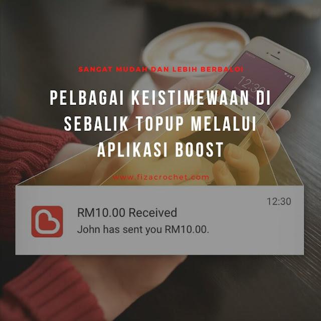 Kelebihan menggunakan aplikasi Boost