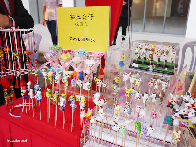 Clay doll stick available for sale