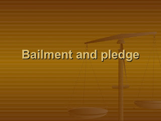 Image result for bailment and pledge