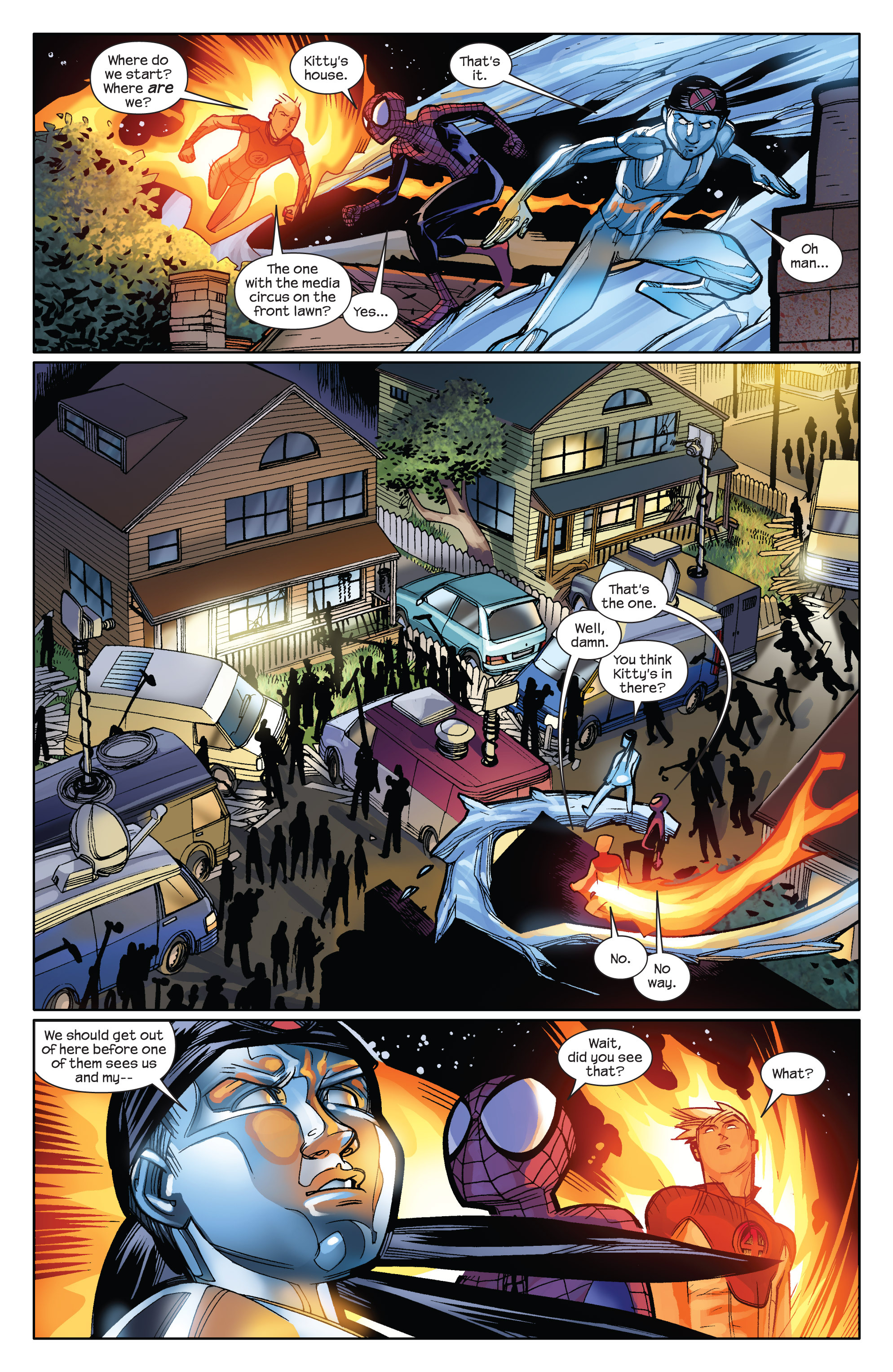 Read online Ultimate Spider-Man (2009) comic -  Issue #10 - 13