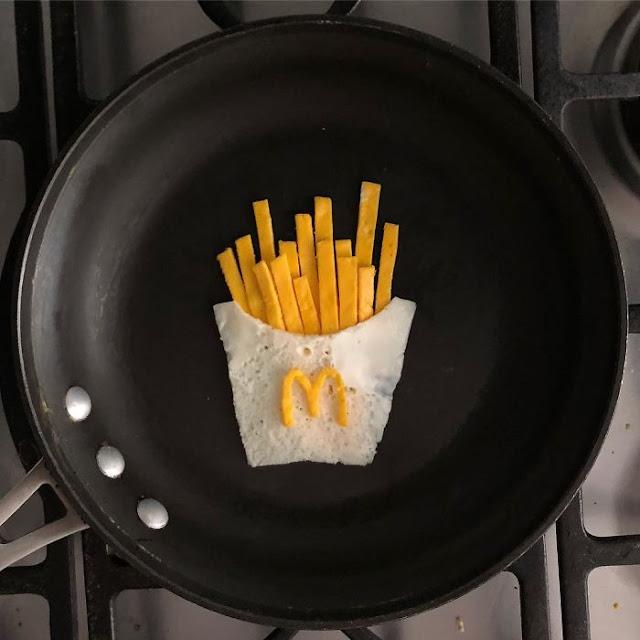 telur berbentuk kentang mcdonald