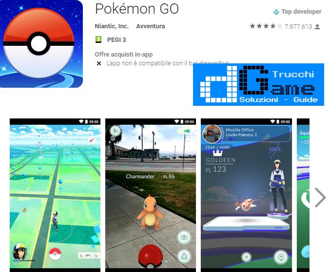 Trucchi Pokémon GO  Mod Apk Android v0.53.1