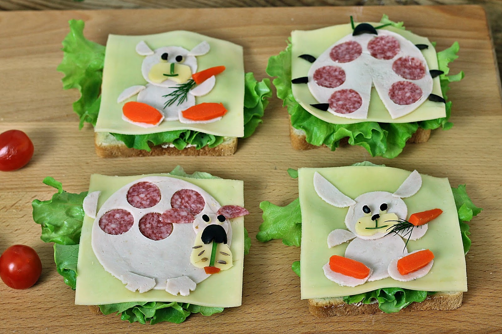 Wesoła Kuchnia Kanapki Zwierzaki Dla Dzieci