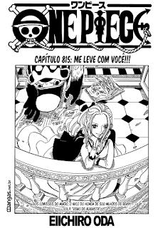One Piece 815 Mangá Português leitura online