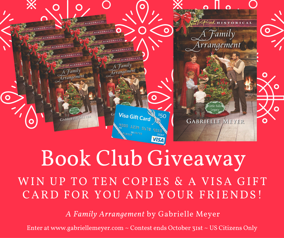 Gabrielle Meyer: Book Club Package Giveaway