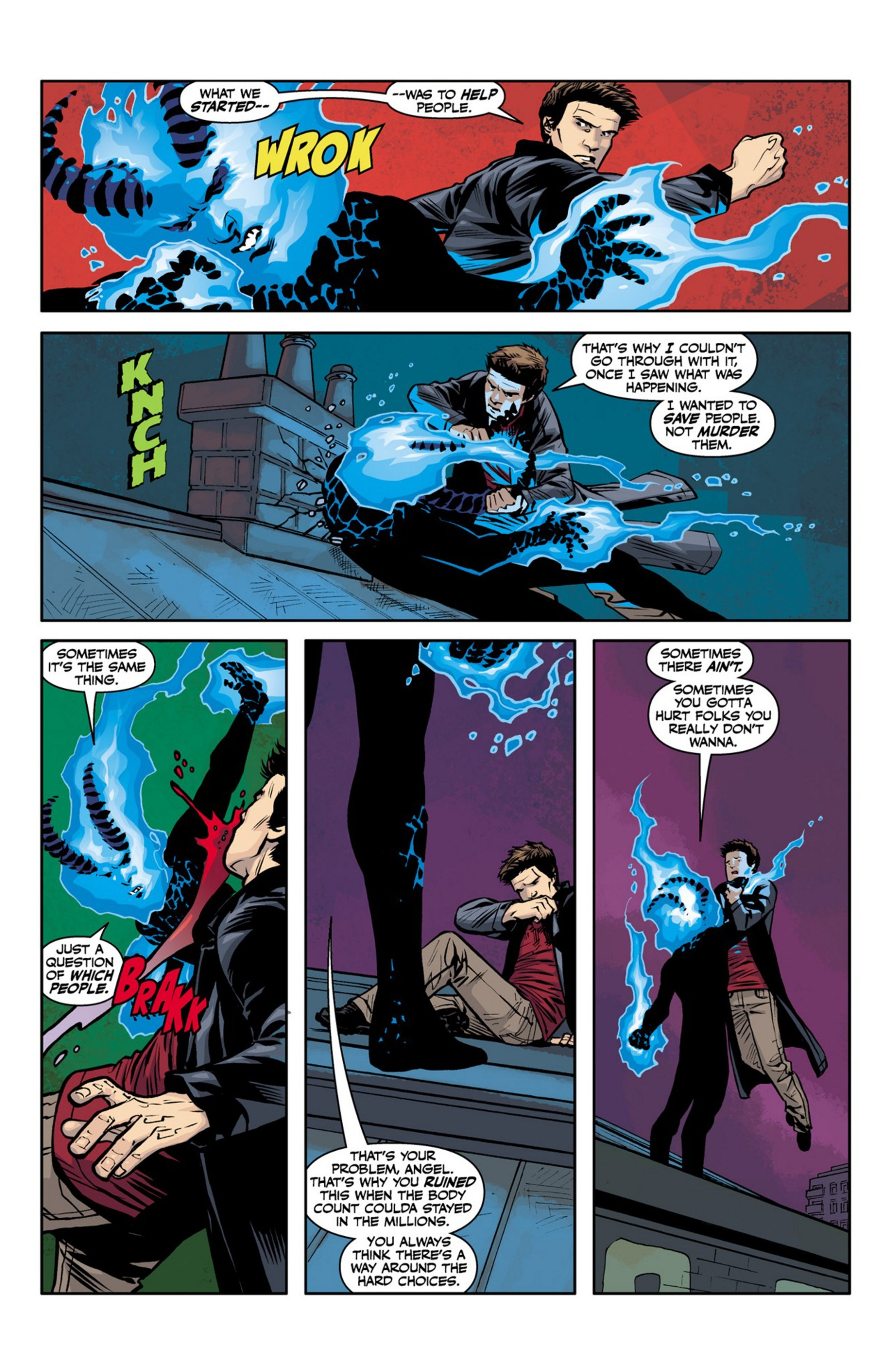 Read online Angel and Faith comic -  Issue #23 - 18