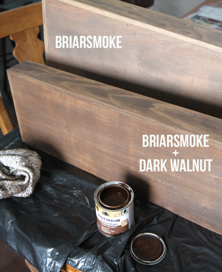 Wood Stain Examples