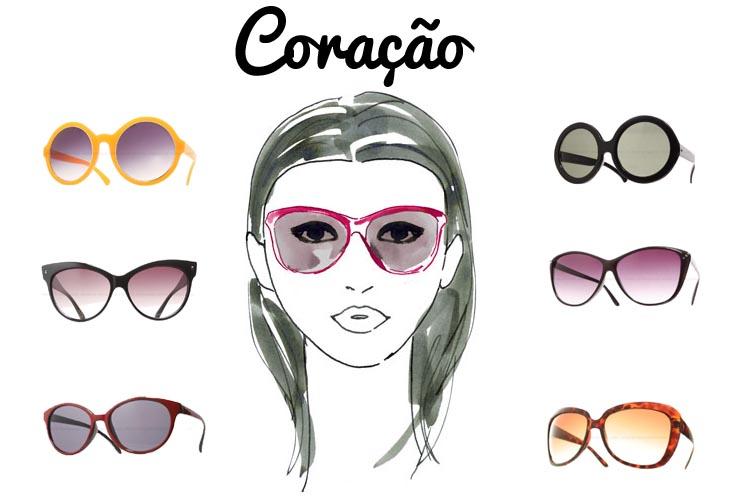 O óculos ideal para seu tipo de rosto! 02eab3f1da