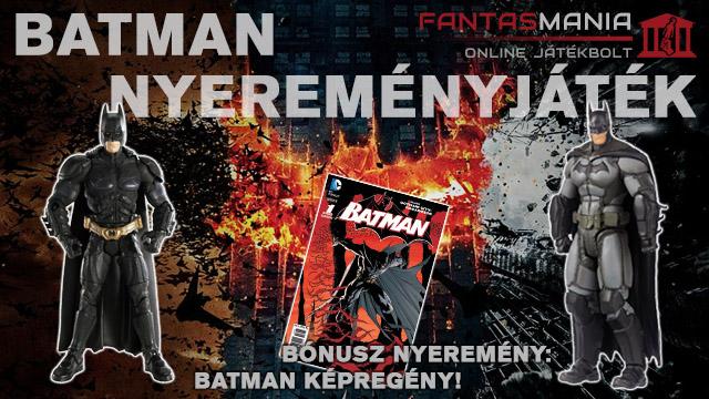 Batman figura és képregény nyereményjáték - by Fantasmania