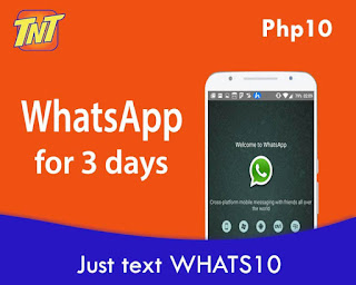TNT WhatsApp promo