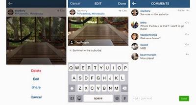 Instagram güncellemesi ve gelen yenilikler