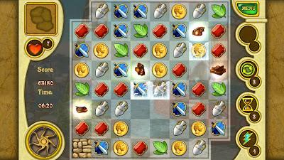 """Call of Atlantis para Android um jogo de puzzle excelente """"Review"""" 4"""