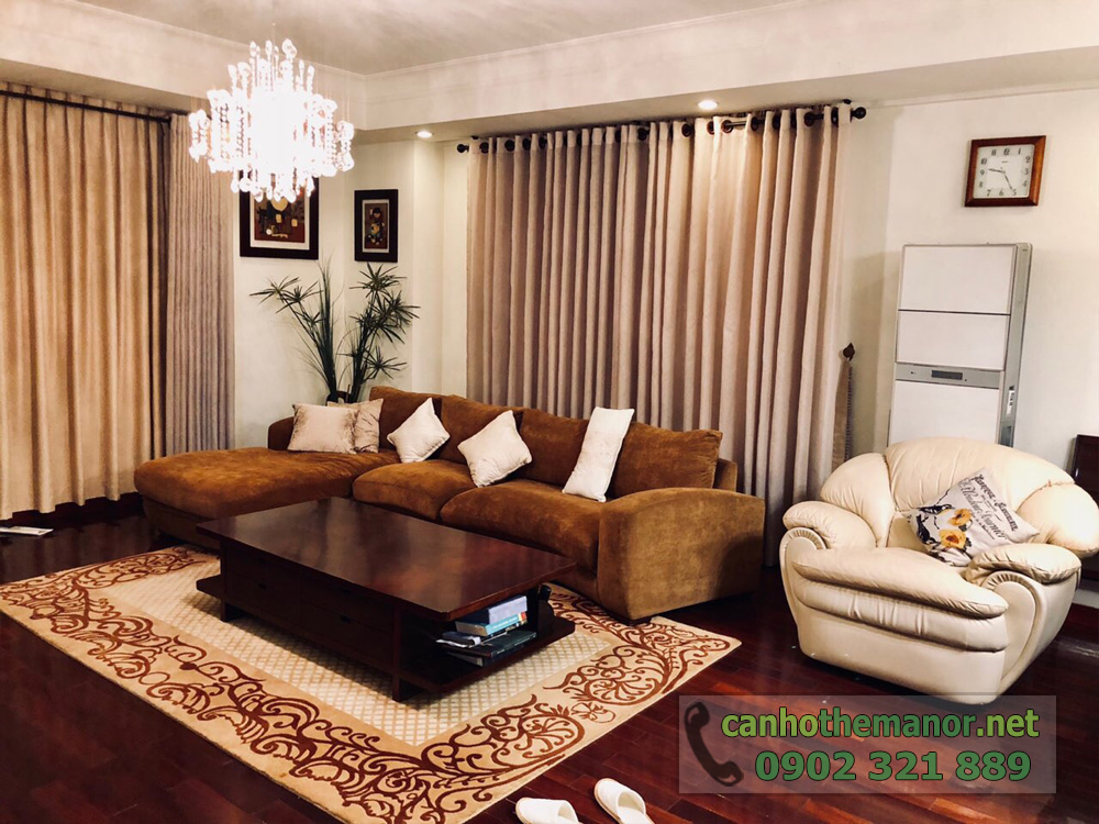 BÁN căn hộ 3PN, 157m2 nội thất siêu đẹp tại The Manor 1 HCM