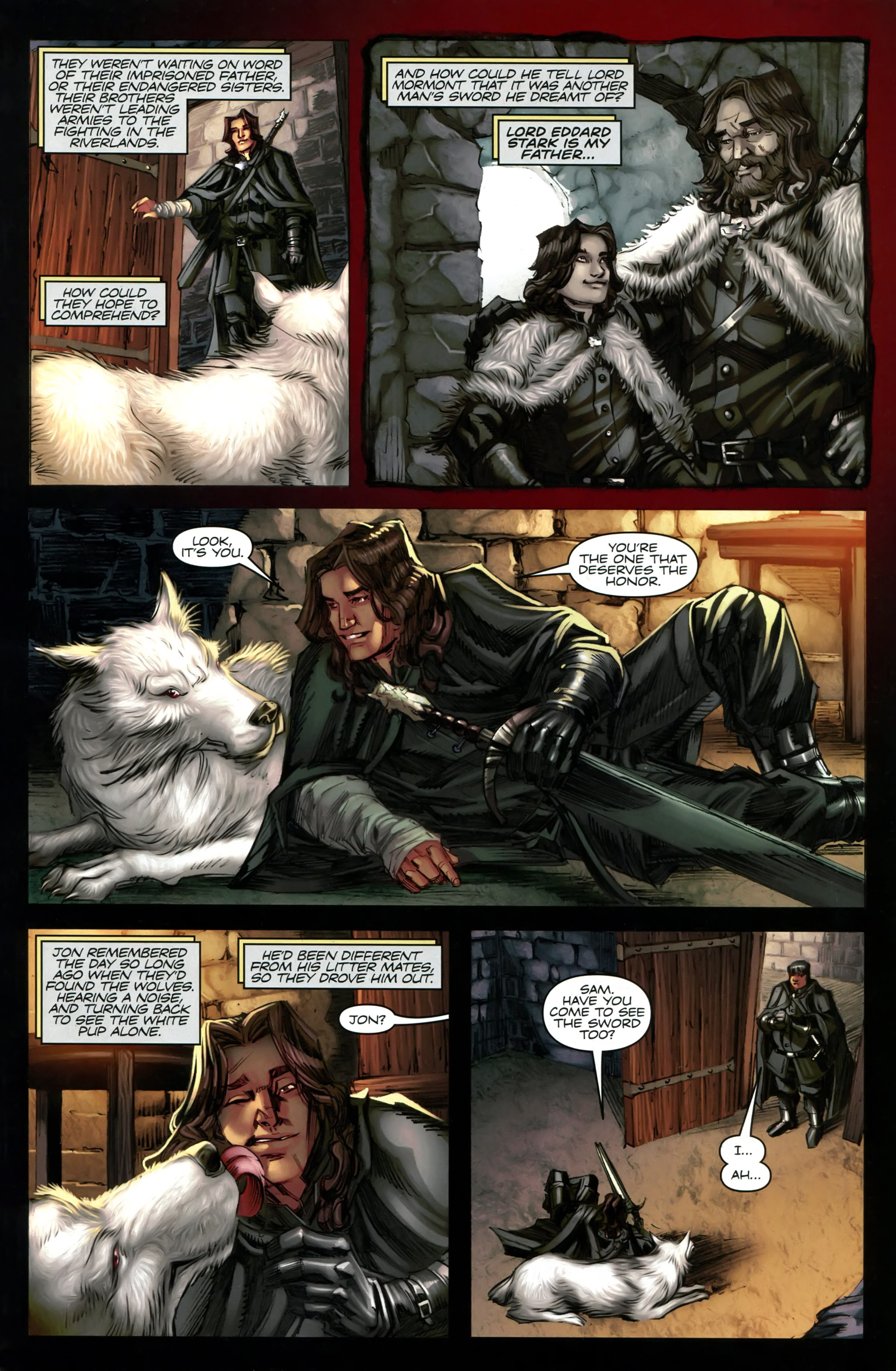 Read online A Game Of Thrones comic -  Issue #20 - 27