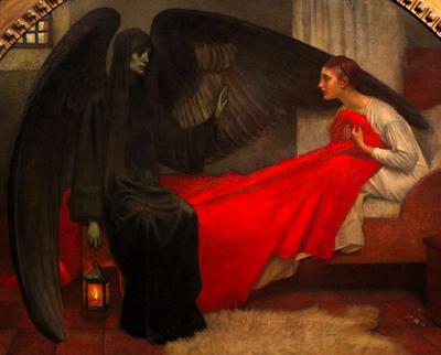 La Jeune Fille et la Mort by Marianne Stokes