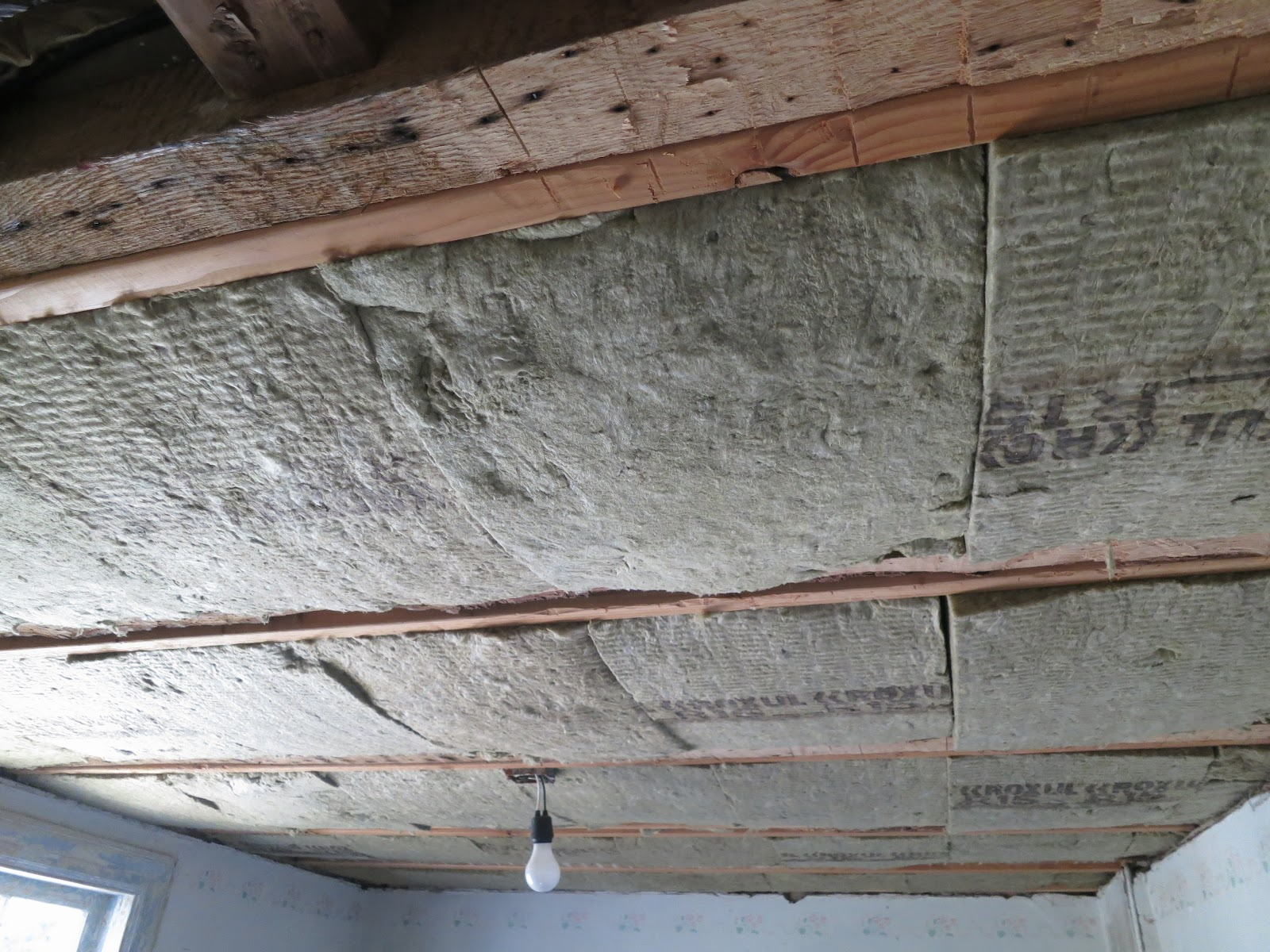 An Old Farm: Insulating The Ceilings