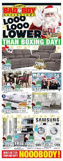 Bad Boy Furniture Flyer valid December 7 - 20, 2017