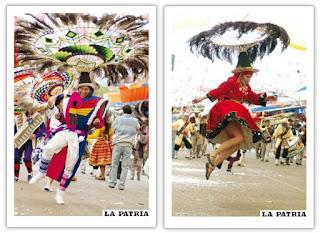 Danza típica del altiplano